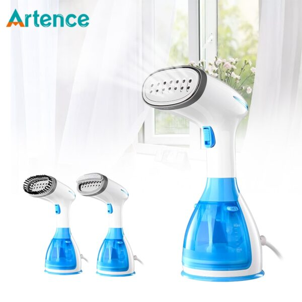 Garment Steamers Clothes New Mini Steam Iron Handheld dry Cleaning Brush Clothes Household Appliance Portable Travel Clean