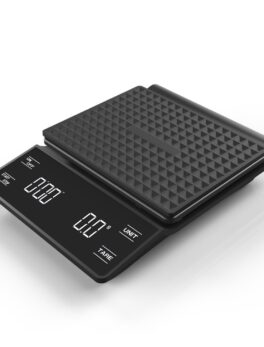 3KG/0.1g Coffee Scale with Timer Smart Drip Coffee Scale Precision Coffee Pot Scale Household Portable Digital Kitchen Scales