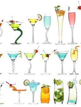 Cocktail Glass Cup Beer Juice Whiskey Boron Martini Wine Cup With Drinking bar Night Club Halloween Party Wedding