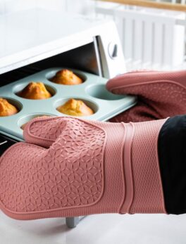 MDZF High Guality Silicone Microwave Glove BBQ Oven Baking Hot Pot Mitts Cooking Heat Resistant Kitchen Baking Cooking Tool