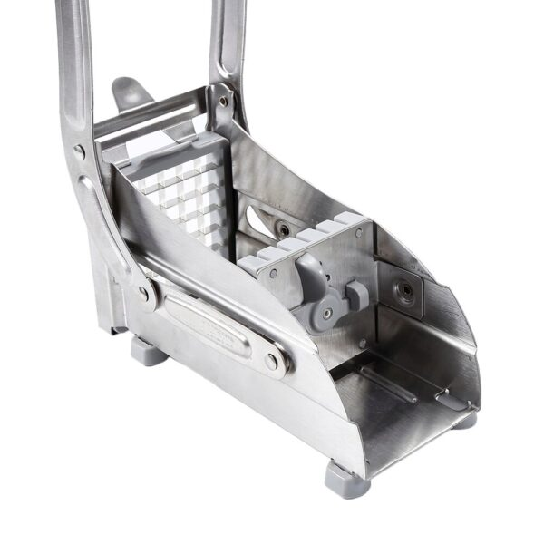2 Blades Stainless Steel Home French Fries Potato Chips Strip Slicer Cutter Chopper Chips Machine Making Tool Potato Cut Fries
