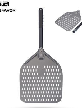 New Pizza Peel Aluminum Pizza Shovel With Long Handle Custom Pizza Paddle Factory Pastry Baking Accessories