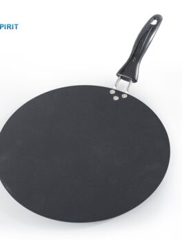 Upspirit 30cm Iron Round Griddle Non-stick Crepe Pan for Pancake Egg Omelette Fying Gas Induction Cooker Cookware Kitchen Tools