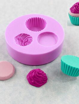 ice cream shape silicone fandont mold Silica gel moulds Chocolate molds ice cream shape cake baking decoration tools candy mould