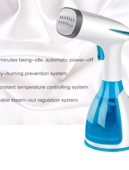 TNTON LIFE Handheld Fabric Steamer 15 Seconds Fast-Heat 1500W Powerful Garment Steamer for Home Travelling Portable Steam Iron