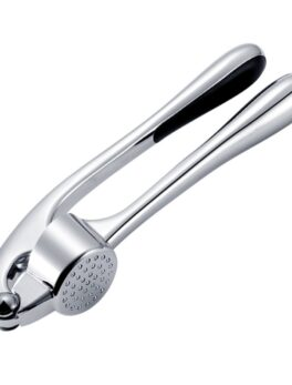 Professional Kitchen Garlic Press Heavy Crush Garlic Soft-Handled Easy to Clean and Highly Durable