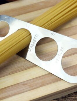 Useful Stainless Steel Spaghetti Pasta Noodle Measure 4 Sizes in One Tool Durable Kitchen Measurer Measuring Gadget Tools li5092