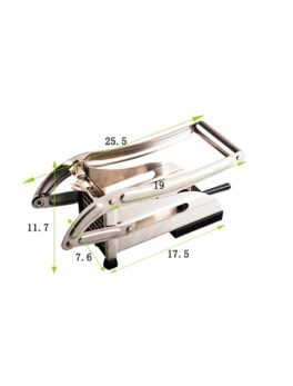 Stainless Steel Potato Cutter French Fries Cutting Machine Potato Chips Strip Slicer Chopper Shredder Fried Chips Making Tool