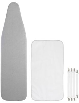 Reflective Ironing Board Cover Fits Large and Standard Boards Pads Resist Scorching and Elastic Edge Covers