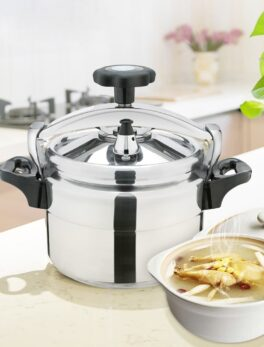 Pressure Cookers Soup Pot Explosion-Proof Cookware Kitchen Stew Pot Household Gas Cooker Cooking Tool Steamer
