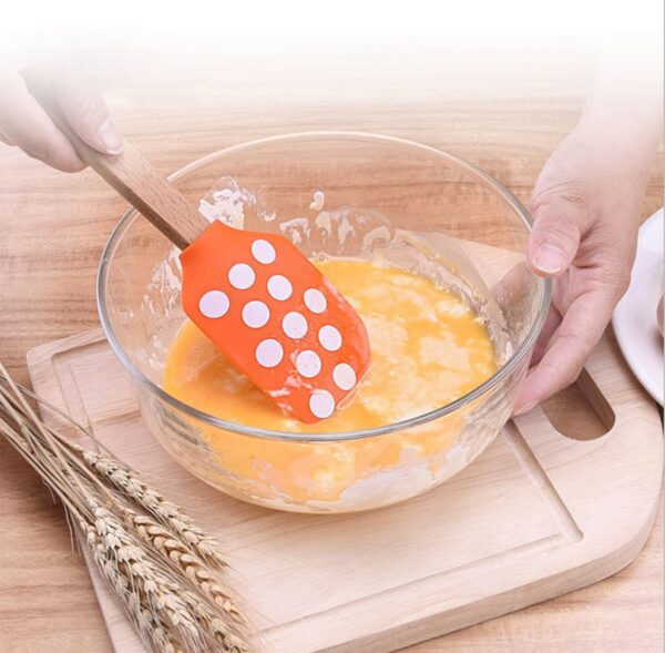 Little Cook Food grade Cooking Silicone spatula for pancakes Kitchen Spatulas Multifunctional cake scraper Kitchen utensils