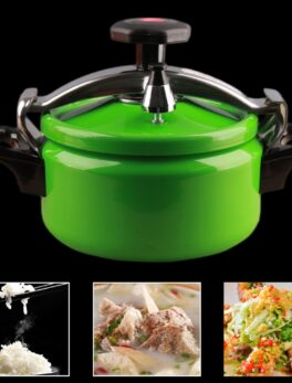 Kitchen Tools Mini Stainless Steel Outdoor Rice Cooking Pot Pressure Cooker Camping Multifunctional Stovetop Explosion-proof