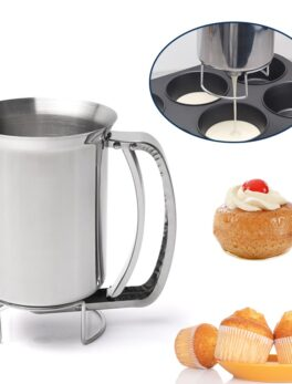 1PC Kitchen Funnel Baking Tools Icing Candy Chocolate Pastry Accessory Adjustable Batter Dispenser Cookie Pancake Batter Funnel