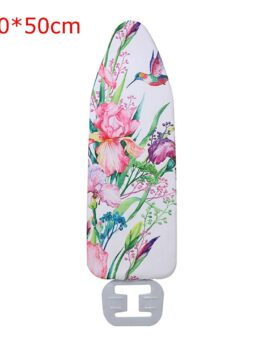 Ironing Board Cover Marble Cloth Printed Ironing Board Cover Protective Non-slip Thick Colorful for Home Cleaner Approx140*50cm